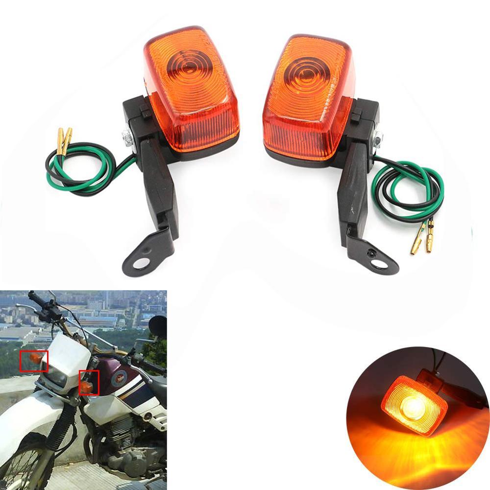 Motoparty Motorcycle Turn Signal Lights Indicator Lamp For Yamaha XT225 TTR250 XT TTR 225 250 Kawasaki KLX250 KLX Honda XR250 XR