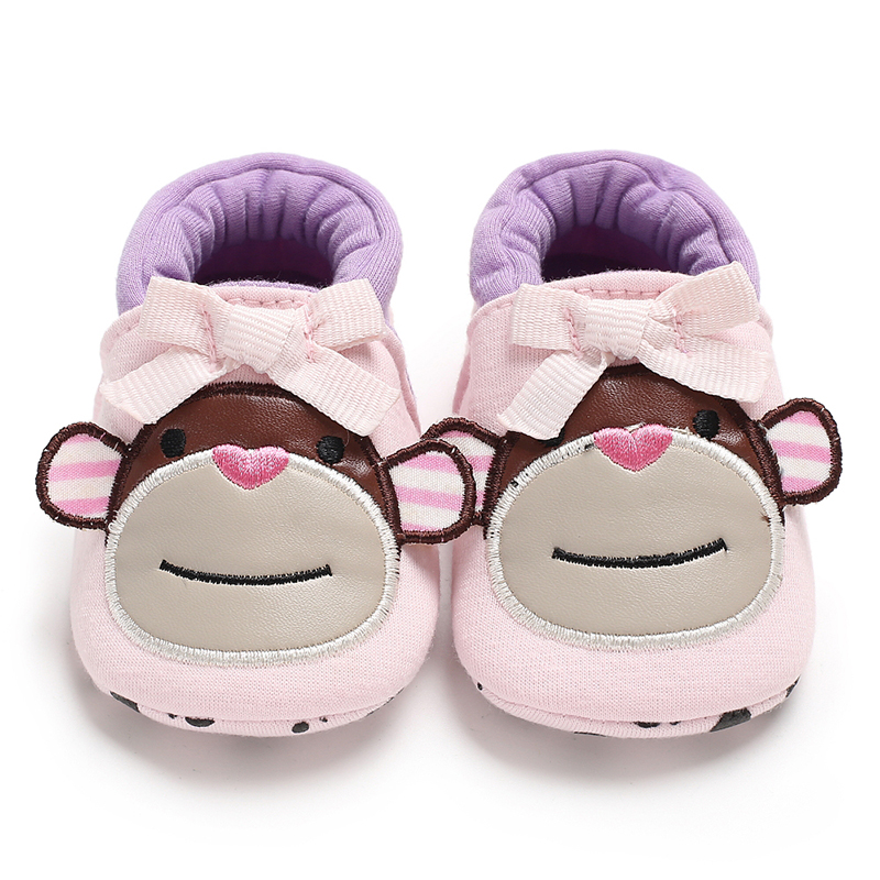 Winter Warm Newborn Toddler Baby Shoes  Fashion Big Monkey Soft-cotton 0-2 Years Boy And Girl Infant Prewalker Baby Shoes Socks