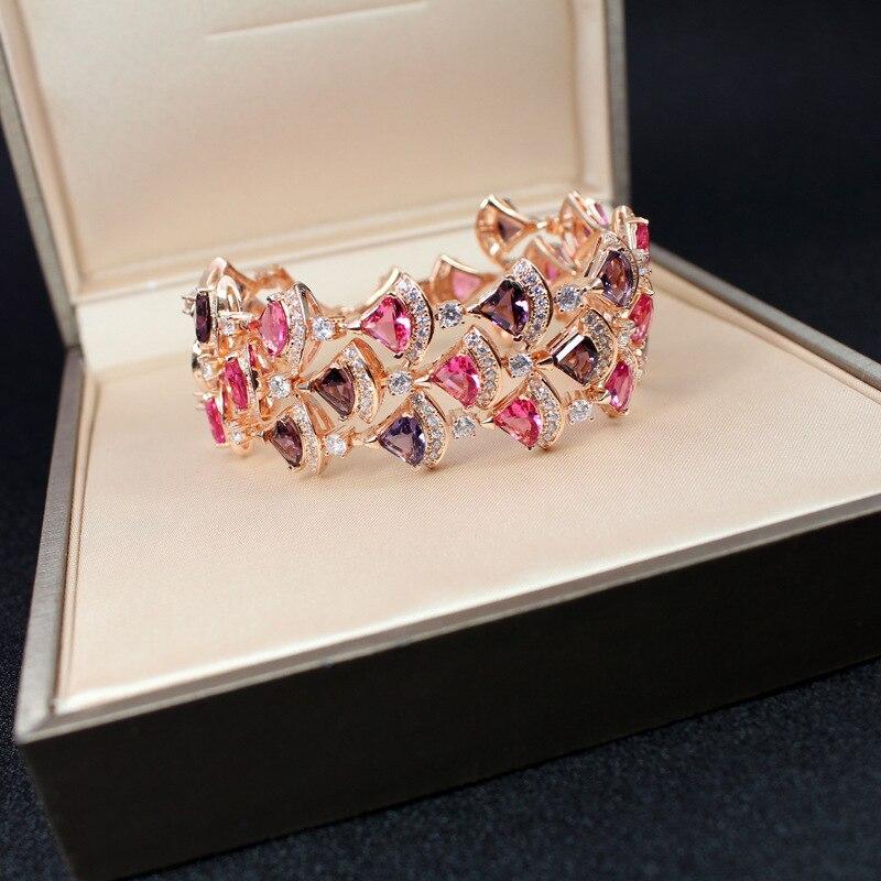 Bracelet de fête en zircon cubique 3A - 6