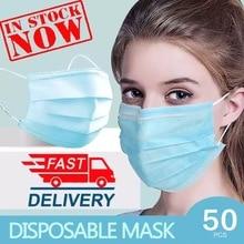 N95 Face Mask 50 Pcs Anti-virus Medical Masks Disposable Filter Masks KF94 FFP3 Dust 3 Laye Surgical Mask n95 mouth masks Pm2.5