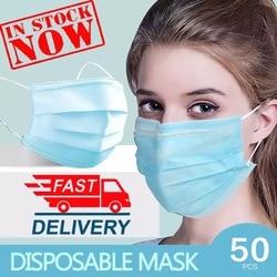 N95 Face Mask 50 Pcs Anti-virus face Masks Disposable Filter Masks KF94 FFP3 Dust 3 Laye protective Mask n95 mouth masks Pm2.5 1
