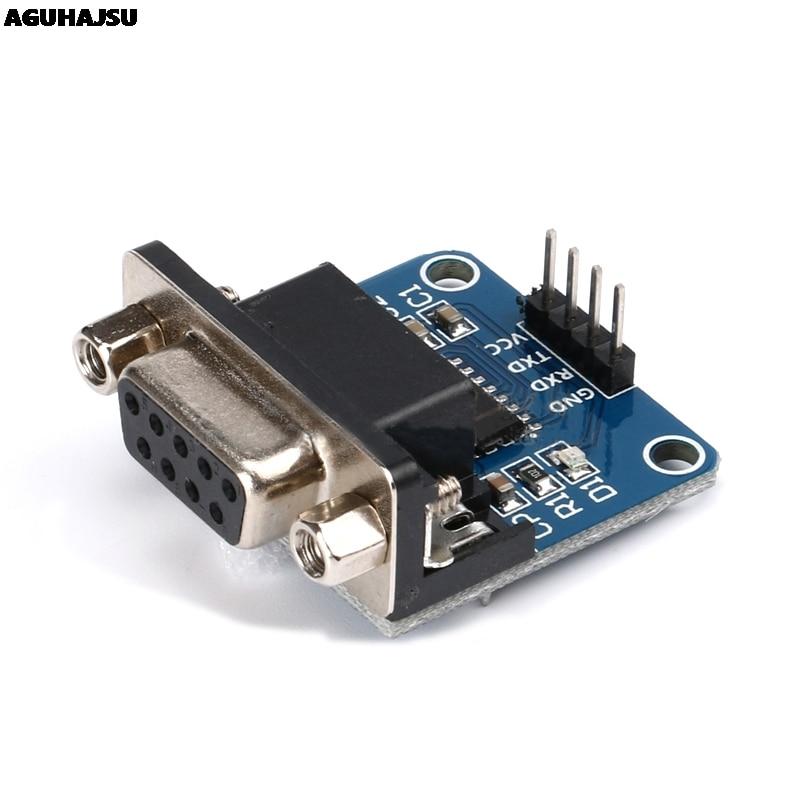 MAX3232 RS232 в TTL модуль преобразователя последовательного порта DB9 разъем MAX232