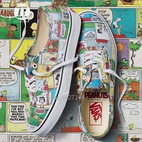 Vans x PEANUTS Comics Old skate, zapatos auténticos de ...