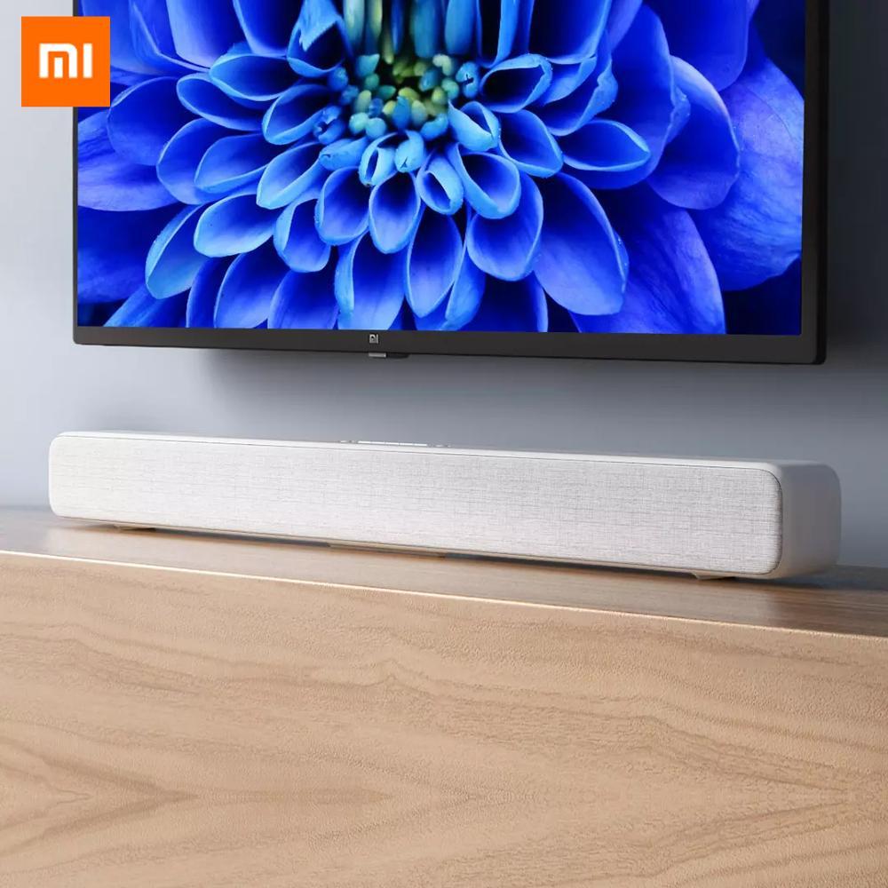 Image 2 - Original Xiaomi Mi Wireless TV Home Theater Speaker Audio Soundbar SPDIF Optical Aux Line Sound Bar Support Xiaomi Samsung LG TVSoundbar   -