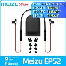 Meizu EP52 اللاسلكية سماعة بلوتوث 4.1 سماعة أذن تستخدم عند ممارسة الرياضة سماعة ستيريو IPX5 مقاوم للماء سماعة مع ميكروفون