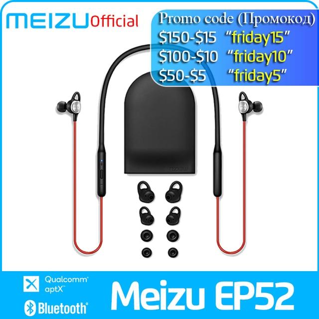 Meizu EP52 Wireless earphone Bluetooth 4.1 Sport Earphone Stereo Headset IPX5 Waterproof earphone With microphone
