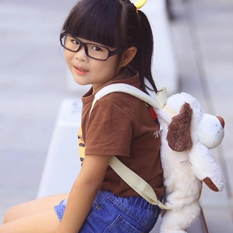 Kid Dog Backpack Girls Boys 40CM Plush Adjustable Schoolbags Stuffed Animal Bag Kindergarten Plush Backpack Toys Children's Gift