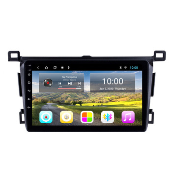 2 Din Android Car Multimedia player for Toyota RAV4 Rav 4 2013 2014 2015 2016 2017 2018 Android Car Stereo GPS Navigation SWC image