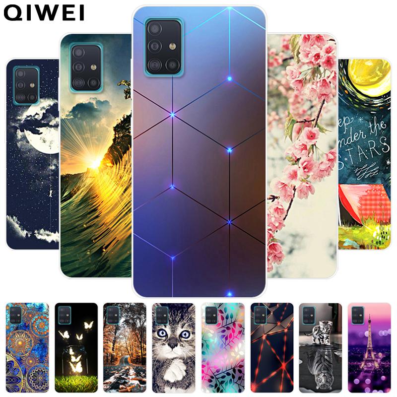 For Samsung A51 Case Cute Fashion Soft TPU Phone Back Cover For Samsung Galaxy A71 A 71 M31S 2020 A21S Cases Coque Funda M 31S