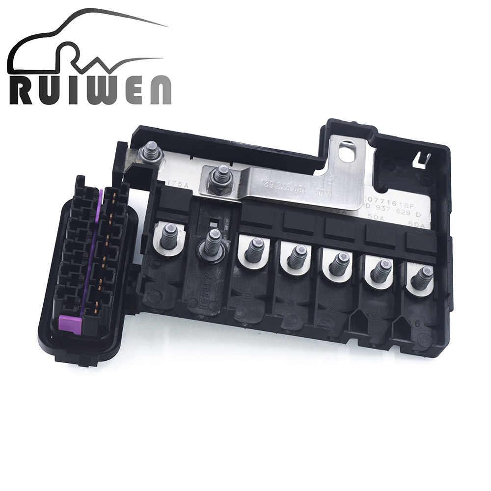 automotive circuit car insurance battery fuse box socket holder for vw ameo  polo suran skoda citigo seat ibiza 6r0937548c| | - aliexpress  aliexpress