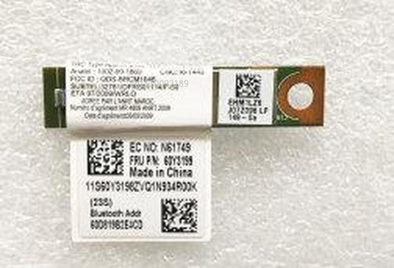 Original New For LENOVO BLUETOOTH BOARD THINKPAD T410 T420 X220 T510 T520 E420 E520 Wireless Adapter Card Wireless 60Y3199