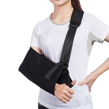 Durable Universal Arm Sling Adjustable Elbow Brace Wrist Elbow Fracture Protector Dislocation Arm Support Medical Fixation Belt недорого