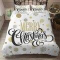 Рождественское постельное белье в горошек  со снежинкой  приятный для кожи  пододеяльник для подростков  детский пододеяльник  одинарный дв...