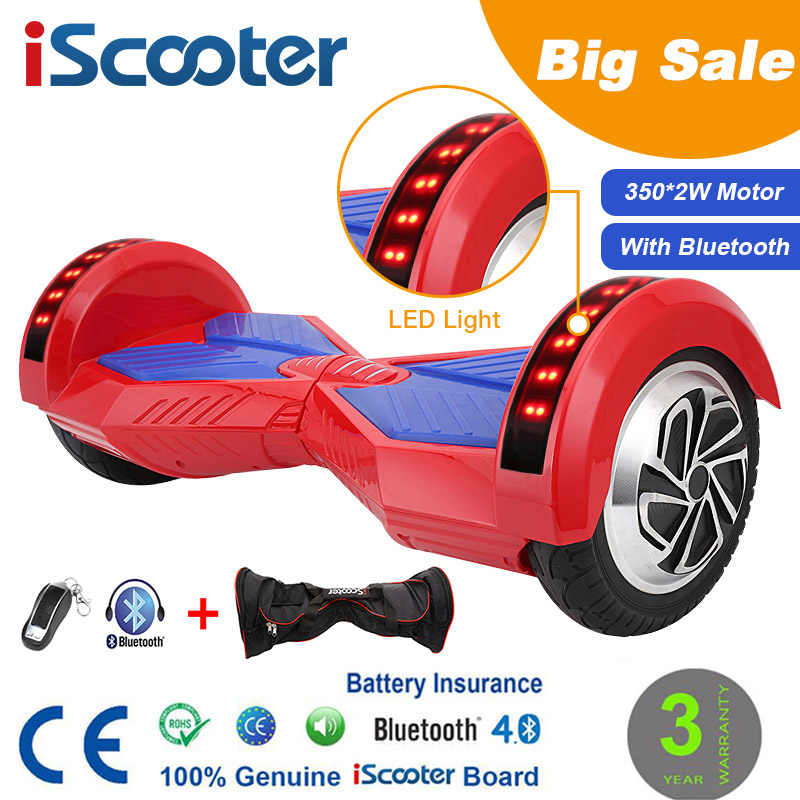 Iscooter Hoverboard Bluetooth 2 Wheel Self Balancing Electric Scooter Two Wheel 10 With Remote Key And Led Skateboard Iscooter Hoverboard Hoverboard 10hoverboard 10 Inch Bluetooth Aliexpress