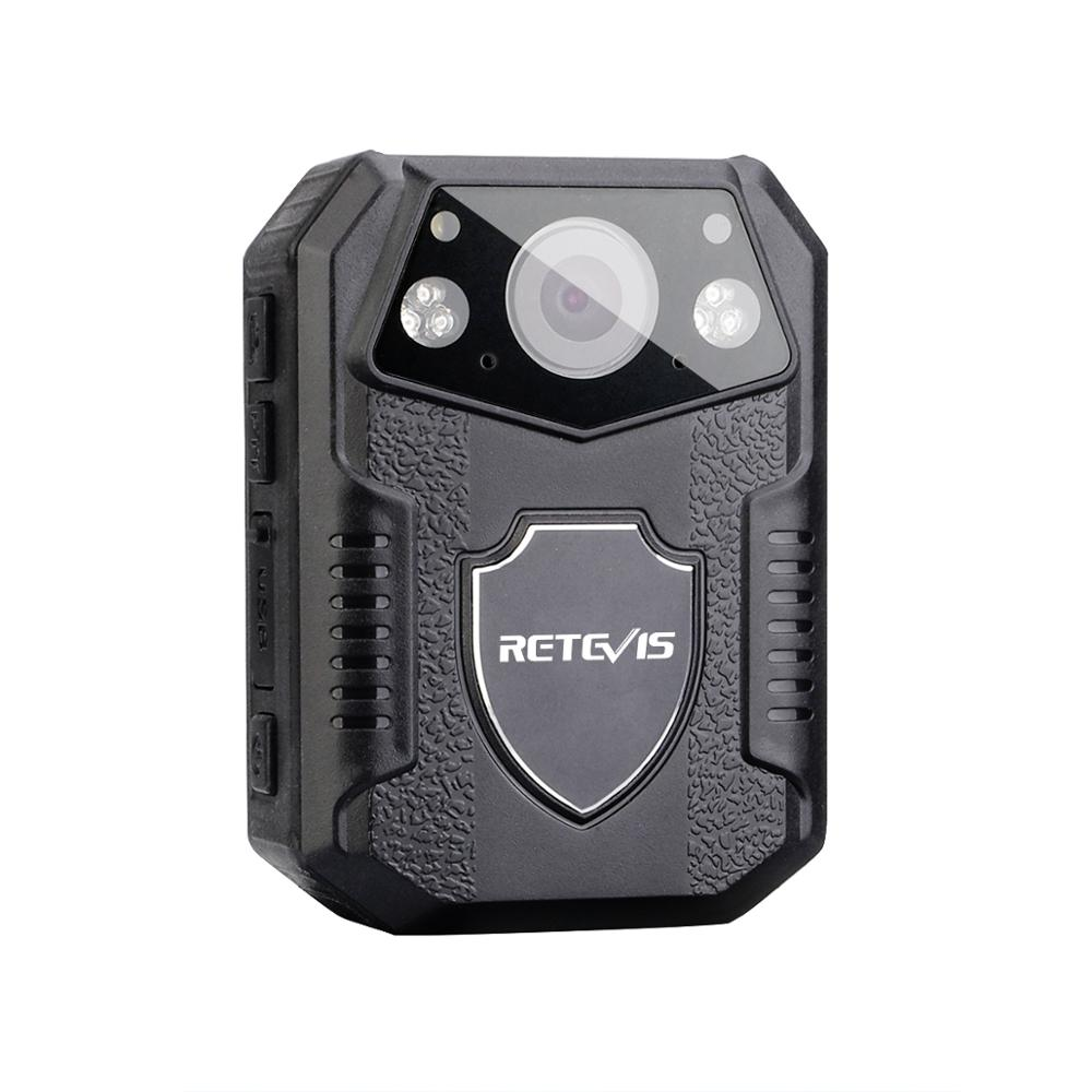 RETEVIS RT77 IR Night Vision Wearable Mini Camcorders Police Camera With 2 Inch Display 16G Memory Motorcycle Driving Recorder