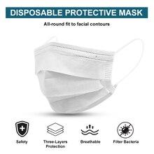 White Medical Mask