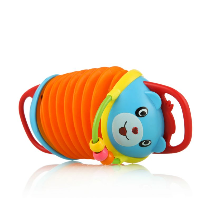 Baby Mini Multicolor Bear Musical Instrument Accordion Toy