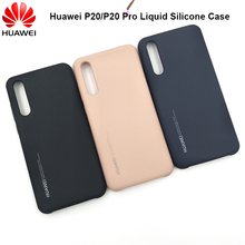Original Huawei P20/P20 Pro Official Liquid Silicone Case Silky Smooth Soft-touc
