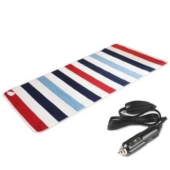 Автомобильное зимнее электрическое отопление одеяло 24 в 85 Вт электрическая Подушка согревающая Подушка Наплечная Премиум плюшевая долгий ...