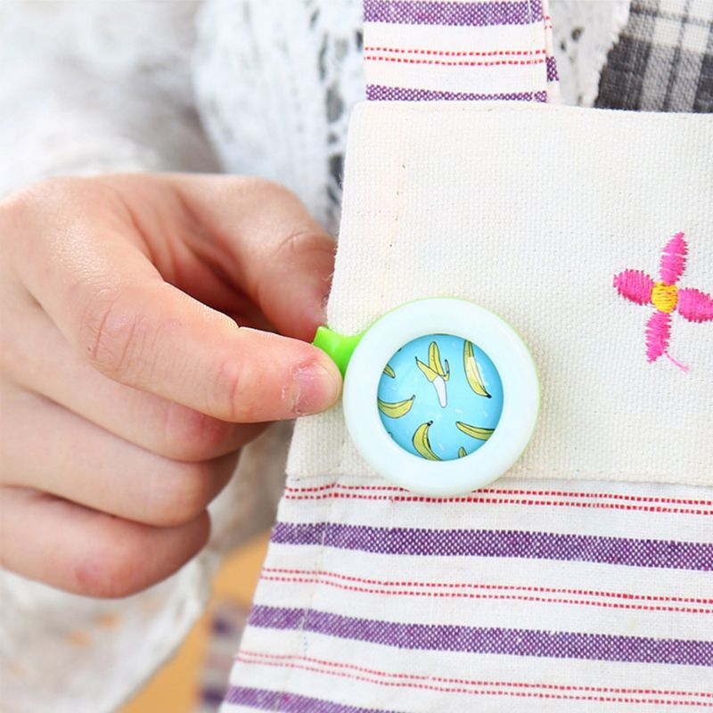 Mosquito Buckle Summer Baby Pregnant Button Repellent Reject Adults Protection