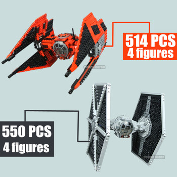 New Starwars Tie Fighter Heavy Assault Walker Technic Model Fit Star Wars Figures Building Block Brick Toy Kid Boy Birthday Gift