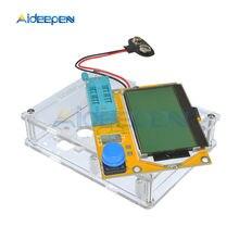 LCR-T4 Mega328 ESR Meter Multimetro Transistor Tester Diodo Triodo Capacità di SCR Induttanza MOS/PNP/NPN/JFET con caso