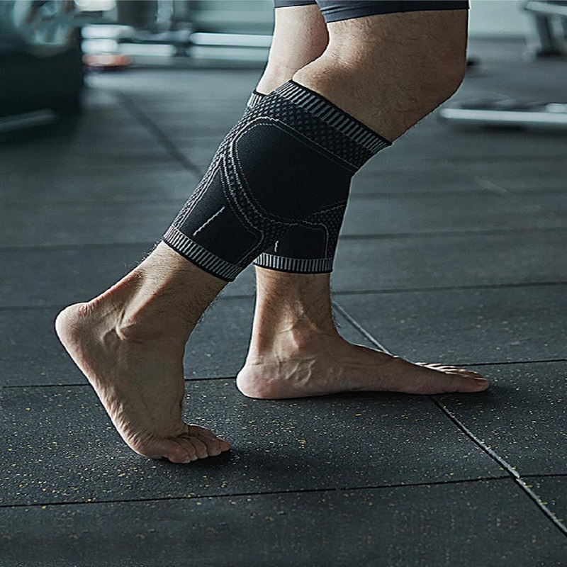 Compression Running Football Soccer Calf Sleeve Sports Cycling Legwarmers Shin Guard Safety Men Women Leg Warmers Support Socks(China)