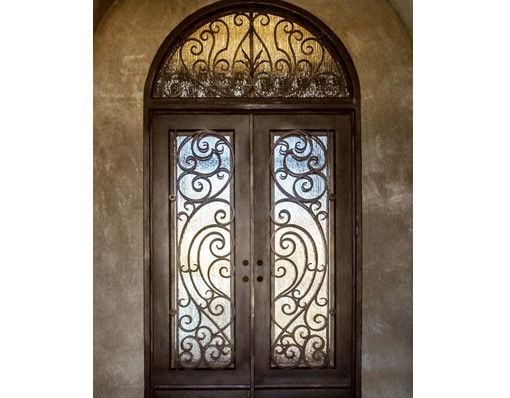 Shanghai Hench Brand China Factory 100% Custom Made Sale Australia Iron Door Price