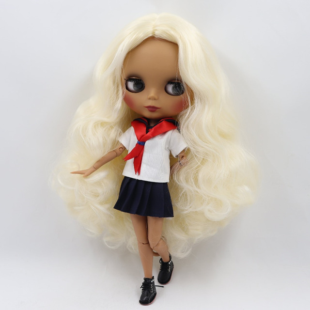 Eleanor – Premium Custom Blythe Doll with Cute Face 1
