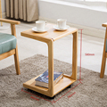30% f05 Bed computer tafel bank bijzettafel mini verwijderbare kleine salontafel massief houten eenvoudige slaapkamer eenvoudige salontafel
