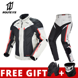 GHOST RACING Motorcycle Jacket Protective Gear Motorbike Riding moto jacket Waterproof windproof Moto Clothing Motorcycle Suits