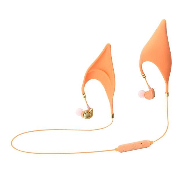 1 قطعة Elf آذان سماعة رأس مزودة بتقنية البلوتوث ميكروفون استبدال سماعات داخل الأذن تأثيري الجنية الهدايا الإبداعية للأطفال