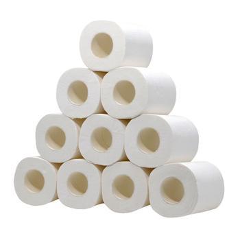 Papier toaletowy do kąpieli papier toaletowy papier toaletowy papier toaletowy biały papier toaletowy papier toaletowy papier toaletowy 10 paczek 4Ply ręczniki papierowe tanie i dobre opinie Bambusa pulpy roll paper Roll Tissue