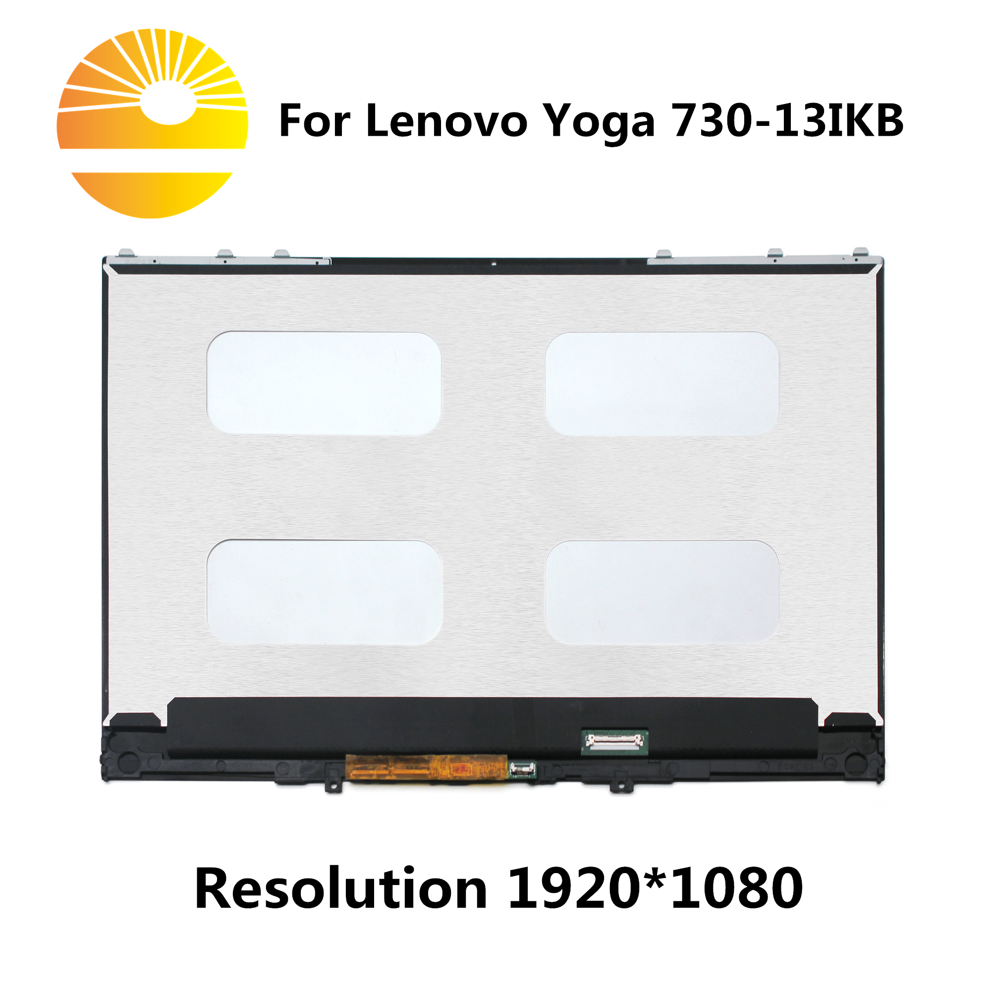 New LCD Display Matrix Touch Screen Digitizer Assembly For Lenovo Yoga 730 13IKB 81CT0008US 81CT000BFR 81CT000DFR 81CT0023GELaptop LCD Screen   -