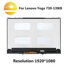 Novo display lcd matrix touch screen digitador assembléia para lenovo yoga 730 13ikb 81ct0008us 81ct000bfr 81ct000dfr 81ct000dfr 81ct0023ge