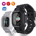 На открытом воздухе Bluetooth Для мужчин спортивные умные часы Шагомер Фитнес сердечного ритма крови кислородом часы 2021 браслет Для женщин Для ...