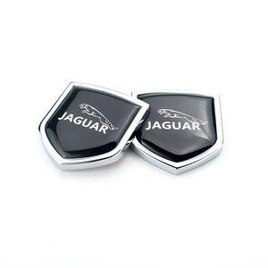 4,3x3,9 cm Mini placa Para Jaguar deporte XJ XS XK XF F ritmo X tipo S E ritmo XJL XKR XJS ventana lateral nueva moda pegatinas de pared