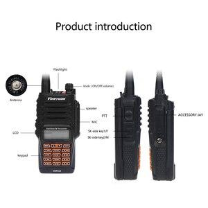 Image 2 - 最新 baofeng UV 9R プラストランシーバー防水 8 ワットの uhf vhf デュアルバンド 136 174/400 520 3 30mhz アマチュア無線 cb ラジオ fm トランシーバスキャナ
