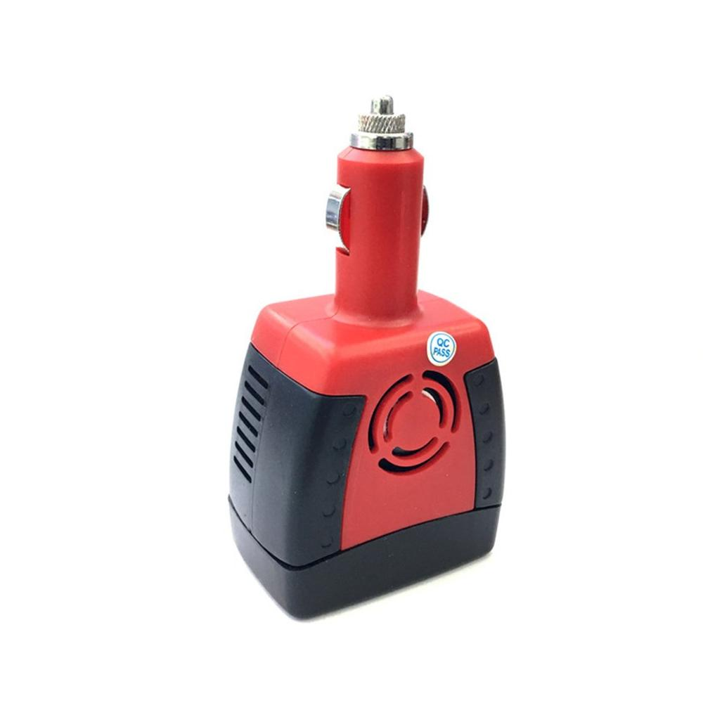 150W 12V DC to 220V AC Power Supply Car Power Inverter Adapter Cigarette Lighter with USB Charger Port Audio Transformer
