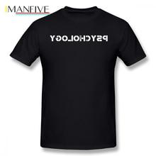 Psychology T Shirt Vintage Psychology Retro Psychology T-Shirt Cotton Beach Tee Shirt 5x Printed Short Sleeve Mens Cute Tshirt цены