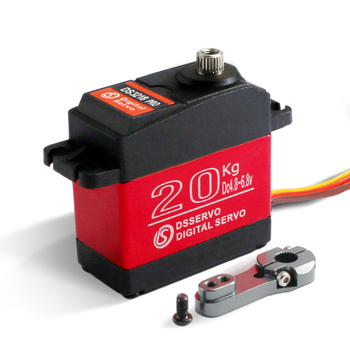 1pcs Waterproof Digital Baja Servo DS3218 Update and PRO High Speed Metal Gear 20KG/.09S for 1/8 1/10 Scale RC Cars