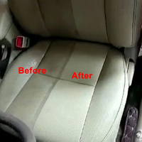 Car Wash Upholstery Cleaner Leather 20ml Car Care Interior Leather Seat Sofa Polish Wax Panel Dashboard Cleaner New 5