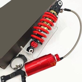 235mm Motorcycle Rear Shock Absorber Damper Double Adjustable For Dirt Bike Monkey Bike Modify Motorcycle accessories