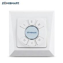 Zemismart 6 kanałów Tuya Zigbee bezprzewodowy przełącznik Smartthings ścienny pilot z przyciskiem Smart Life Alexa Google Home Control
