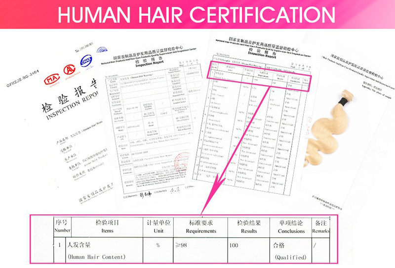 parte do laço do cabelo perucas de cabelo humano