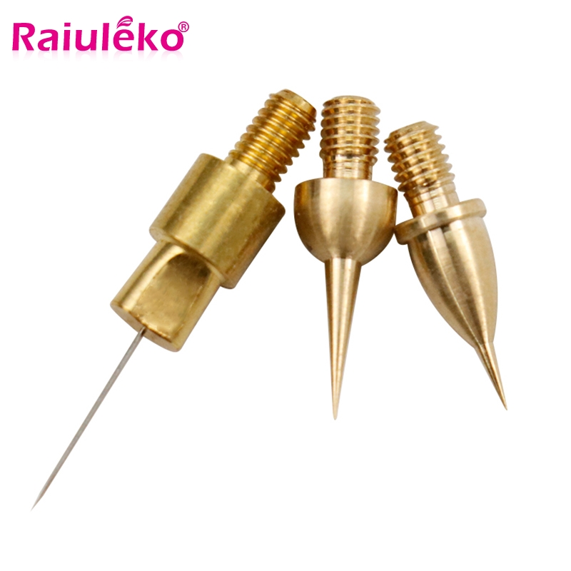 Laser Tattoo Needle Reusable Copper Needles Tips For Plasma Pen Eyelid Lift Removal Dark Spot Freckle Removal Mole Spot