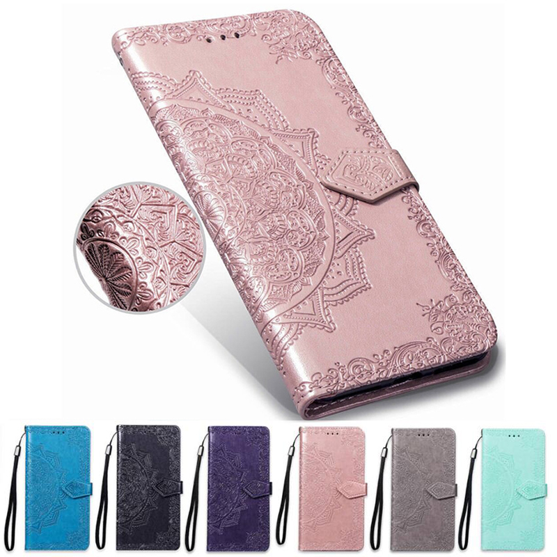 Wallet <font><b>Cover</b></font> Flower Leather Case <font><b>for</b></font> <font><b>Asus</b></font> <font><b>Zenfone</b></font> 4 Selfie Pro ZD552KL ZD553KL ZB553KL 4 Max ZC520KL X00HD ZC554KL <font><b>ZE554KL</b></font> Cases image