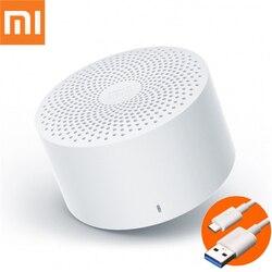 Original xiaomi mijia alto-falante portátil sem fio bluetooth xiao ai controle de voz inteligente handsfree baixo mini oradores música