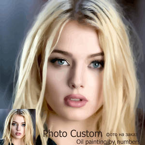 HUACAN Oil-Painting Paint-Pictures Drawing Photo-Customized By Number Canvas-Coloring