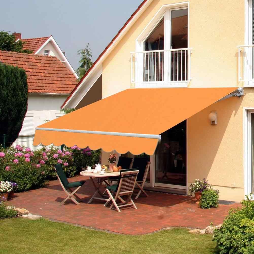 sun shade sail canopy waterproof patio awning exterior sunshade canopy window canopy awning fabric replacement uv block curtain